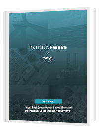 Enel Green Power goes beyond monitoring with narrativewave